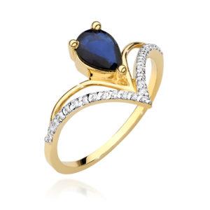 pierścionek w-487