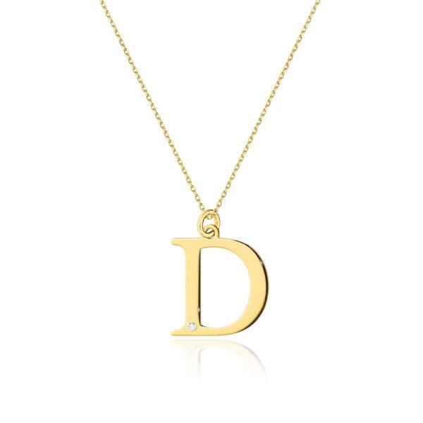 zawieszka litera D